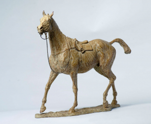 Loose Horse by Julia Wager - Bronze - H40cm x L44cm - £7,000