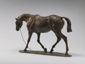 Tired Hunter by Julia Wager - Bronze - H28cm x L44cm - £7,000